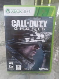Used call of duty ghosts used Xbox 360 game  Toronto, M3C 1E8