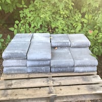 22 pieces of bullnose copings Charcoal  Vaughan, L4H 1T6