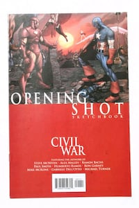 Civil War: Opening Shot Sketchbook (9.4) NM Upper Marlboro, 20774