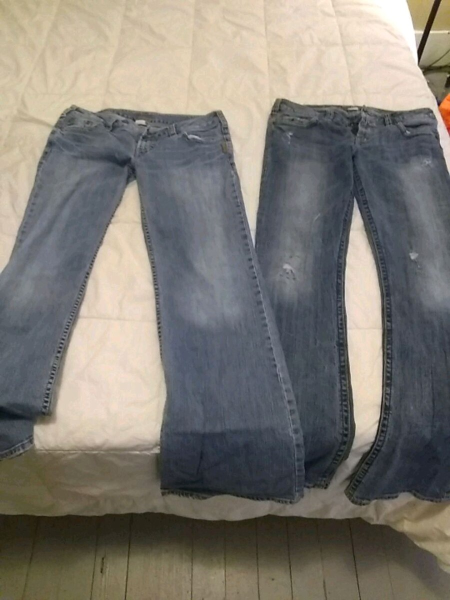 Photo Silver Jeans 31/33 and29/33