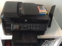 HP Photosmart Premium: print, fax, scan, copy, web + 7 ink cartridges. Carriage return is stuck. I don't have time to fix it. Great deal if you have time to fix. Markham, L3T 7P7