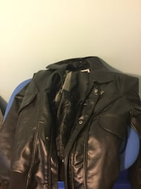 Black leather zip up jacket - all sizes Toronto, M3N 2W5