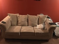 gray fabric 3-seat sofa Shoreview, 55126