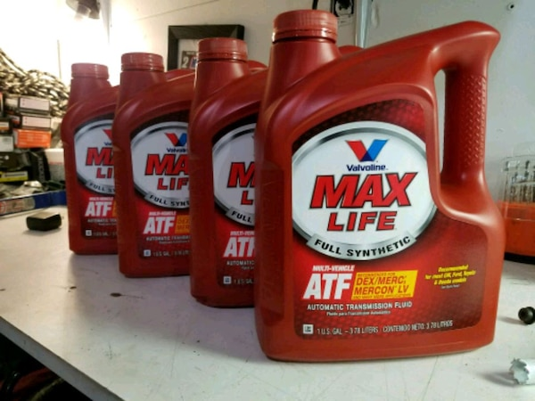 4 1 gallon Valvoline MAX life multi-vehicle ATF
