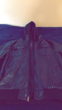 Obey leather jacket Joint Base Lewis-McChord, 98433