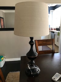 White and black table lamp Los Angeles, 90004