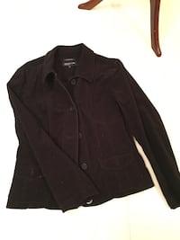 Jones of New York brown corduroy stretch jacket old condition size large. Vaughan