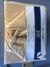 Twin Bed sheet set. Never used. Baltimore, 21219