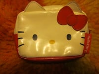 2008 Hello Kitty Smooth Leatherette Small Change Purse Wallet Winnipeg