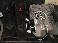 1 pair out of the 2 shoes + electronics Trade for ps4 Washington, 20011