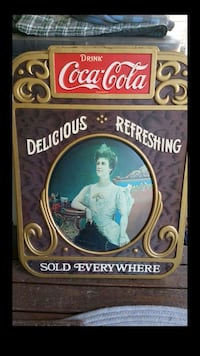 Antique Coke Sign 2315 mi