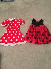 toddler's red and black polka dot dress Middletown, 21769