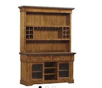Distressed wood buffet from Havertys Annapolis, 21122