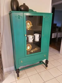 green and white wooden cabinet Markham, L3T 6V5