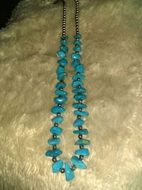 Turquoise necklace.  Fort Worth, 76106