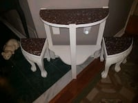 Unique table with seats  Whitby, L1N 8X2
