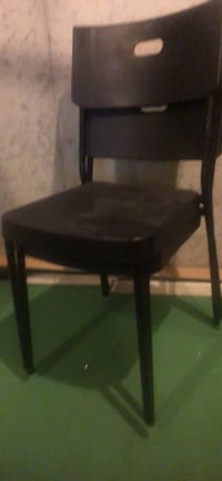 Set of 2 plastic office chairs  Howell, 48843