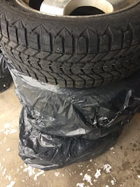 Tires four 205 55R16. RIM free with tires.