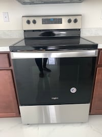 New Whirlpool Electric Range - Stainless steel For Sale