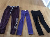 Girl Columbia sweater, 2  warm leggings , sweatpants Mississauga, L5M 7L7