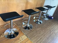 brand new in the box set of 4 chair bar stool adjustable silla cadeira  Clifton, 07011