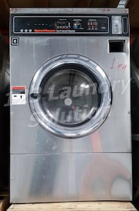 FOR SALE! Commercial Speed Queen Front Load Washer Triple Load EX325 Stainless Steel La Habra