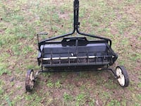 Black and gray reel mower Townsend, 19734