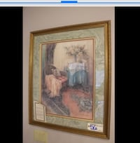 Two Lena Lui numbered/signed/matted & beautifully framed prints Cedar Rapids, 52405