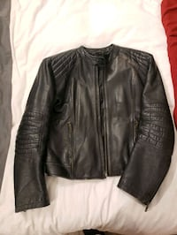 N.L.C. leather biker jacket