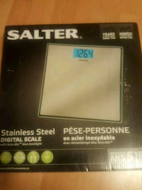 Stainless steel digital  scale brand new