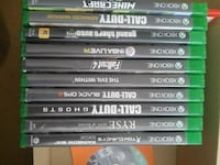 Xbox one games 25$ each Dover, 19904
