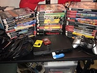 Ps2 slim with 41 games, 2 controllers, 2 memory cards Herndon, 20170