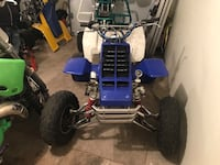 2005 banshee Florida title everything on the bike after market chrome a arm work shocks t5 pipes bumper axle after market beed lock back rims 2 in 1 carb stage 4  Yonkers, 10701