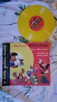 Pinocchio vinyl record with sleeve case Seattle, 98136
