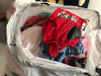 Free bag of used girls baby clothes size 6 to 18 months  Bellflower, 90706