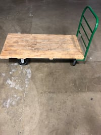 "Rolling Flatbed Cart 60"" x 30"" Mount Prospect, 60056"