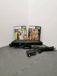 Xbox 360 Kinect & 2 Games