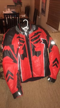 red and black full-zip jacket Reading, 01867