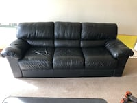 leather ikea couch West Hollywood