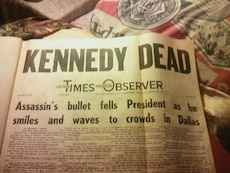 Times Observer Kennedy Dead book
