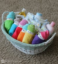 Diaper babies for a baby shower for gender reveal  2309 mi