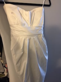 White strapless dress Mississauga, L5N 7G1