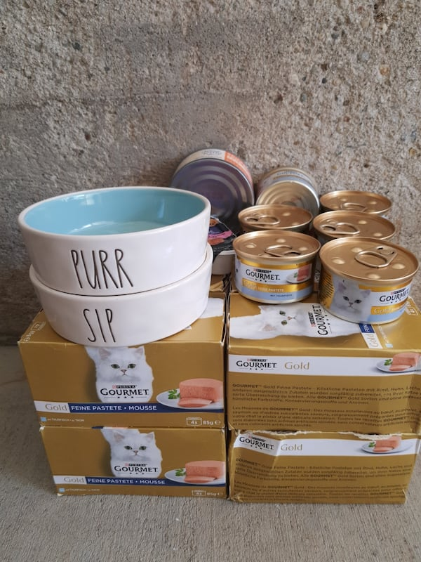 Thuna Pate 54xCans + Set of bowls + two extra pates 963f955b-5793-4212-9f9e-cfde52d861fb
