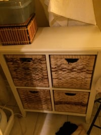 Asking 125. Original price 300 :      http://www.canadiantire.ca/en/pdp/for-living-verona-wicker-4-drawer-chest-0687528p.html#srp