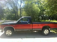 red pickup truck will traid for motter cycle  Muskegon Heights, 49444