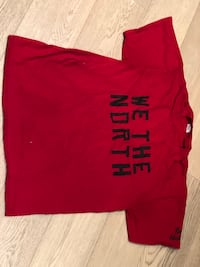 We The North authentic Raptors t-shirt