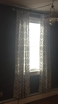 Gray and white window curtain East Hanover, 17003