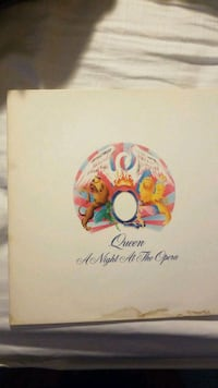 Queen Vinyl Album A Night At The Opera Alexandria, 22301