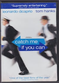 Brand New DVD: CATCH ME IF YOU CAN (Full Screen 2 Disc Set) WESTCHESTER