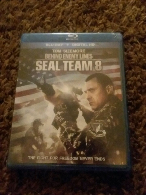 Blue ray and digital seal team 8